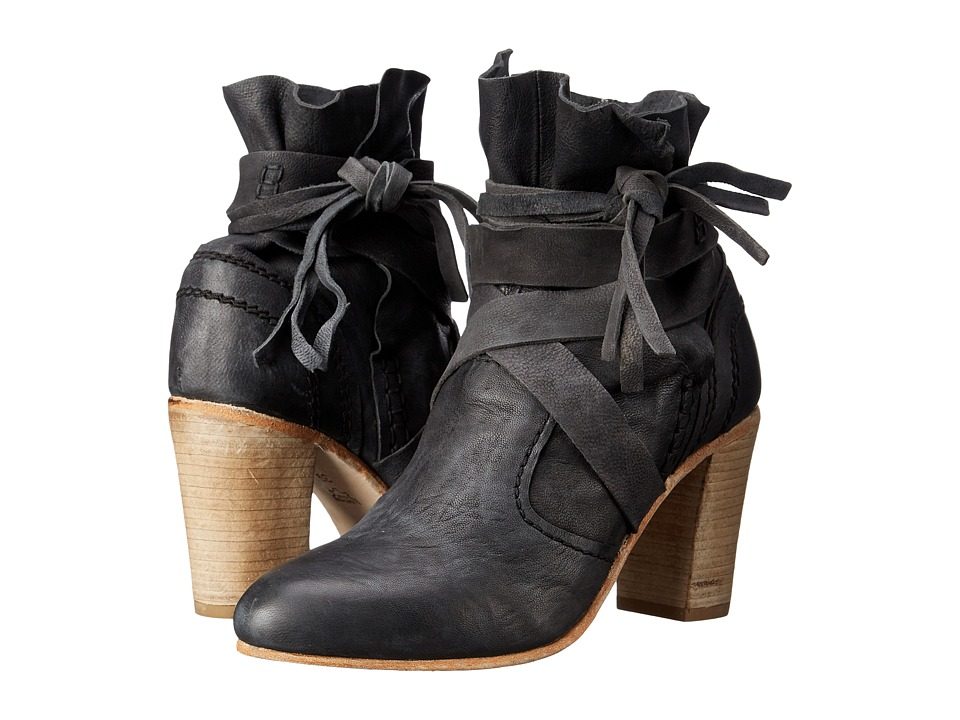 Free People Seven Wonders Heel Boot Dark Charcoal Womens Dress Boots