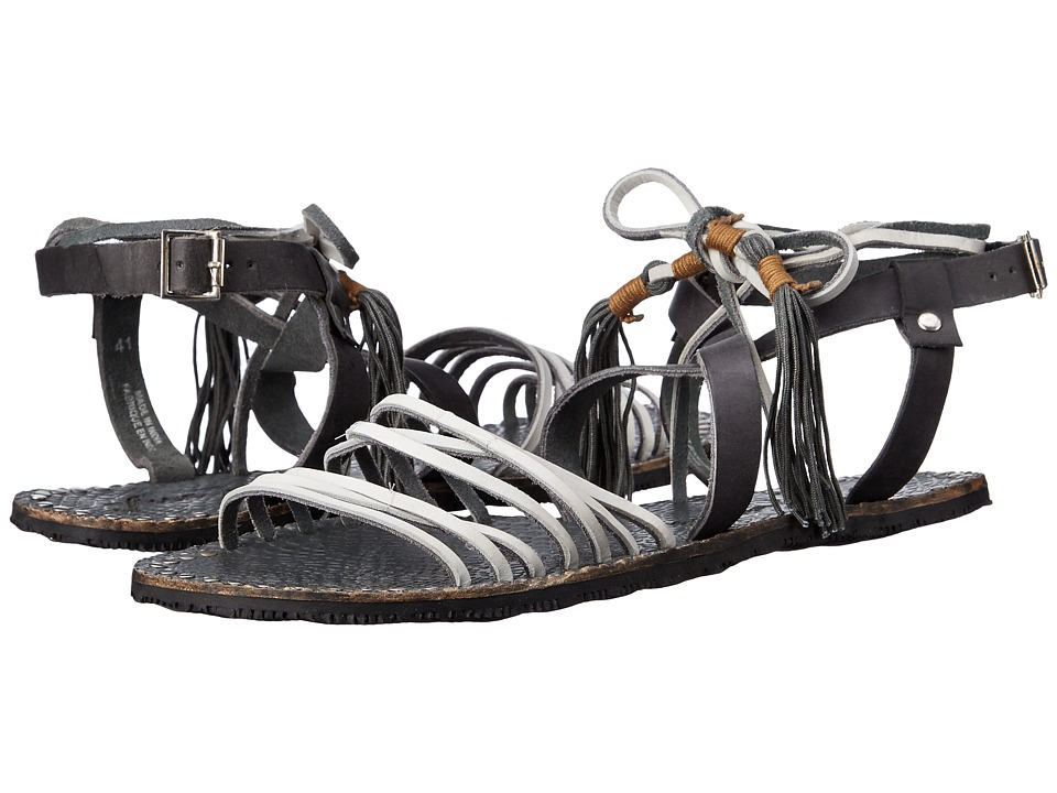 Free People - Willow Sandal (Snake/Smoke) Women's Sandals
