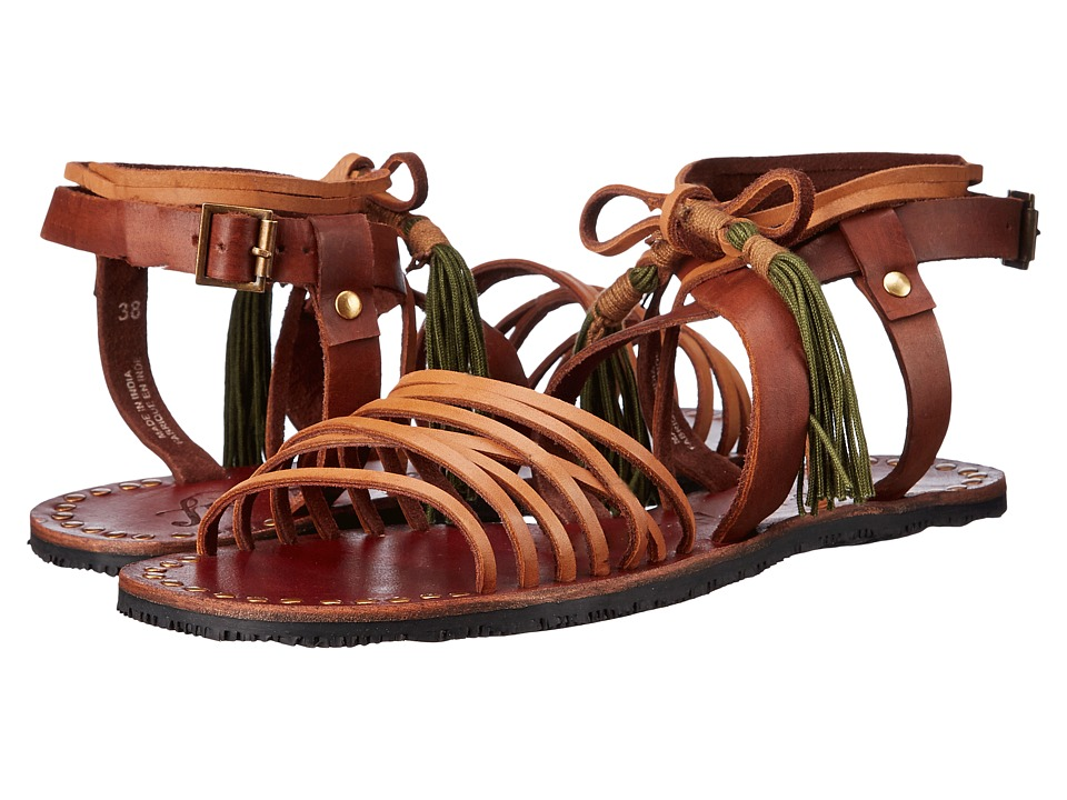 Free People - Willow Sandal (Tan/Safari) Women's Sandals