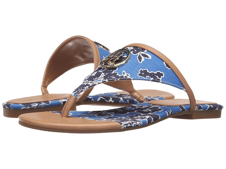 Tommy Hilfiger - Sal2 (Rich Ocean/Biscuit) Women's Sandals