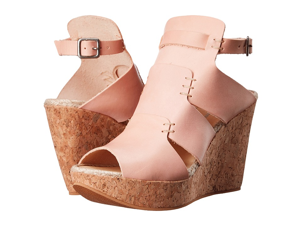 Free People - Vachetta Rose Wedge (Vachetta) Women's Wedge Shoes