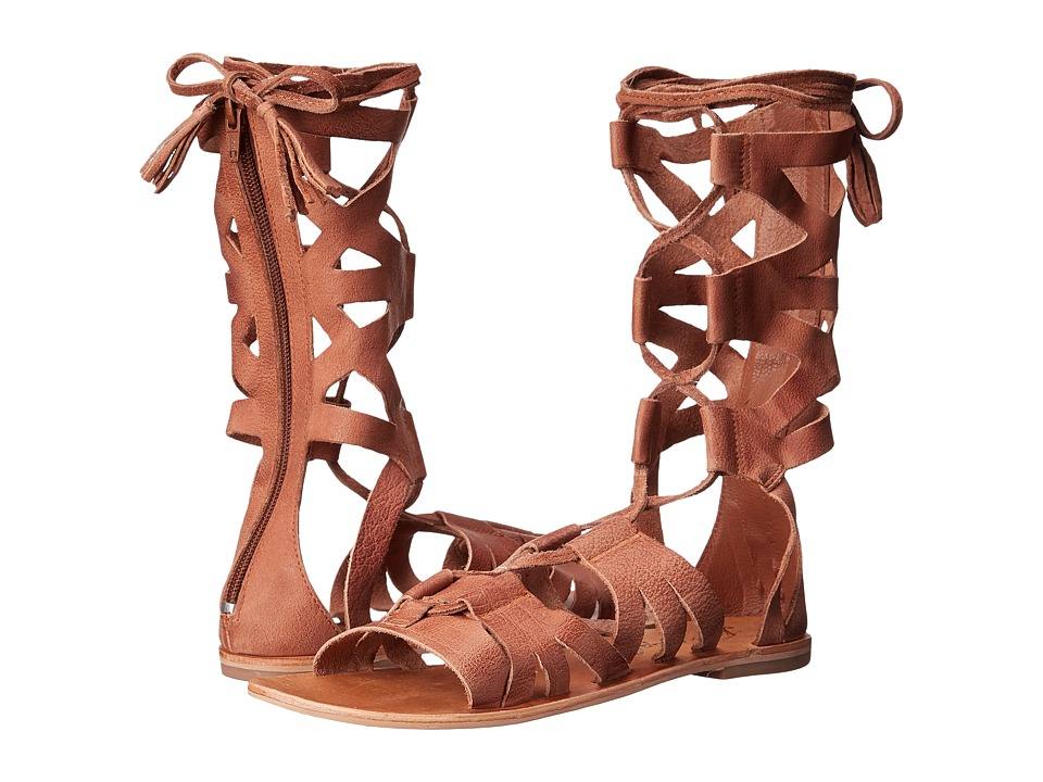 Free People - Mesa Verde Gladiator Sandal (Tan) Women's Sandals