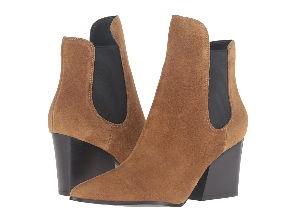 KENDALL + KYLIE - Finley (Dark Natural Rich Suede/Gore) Women's Shoes