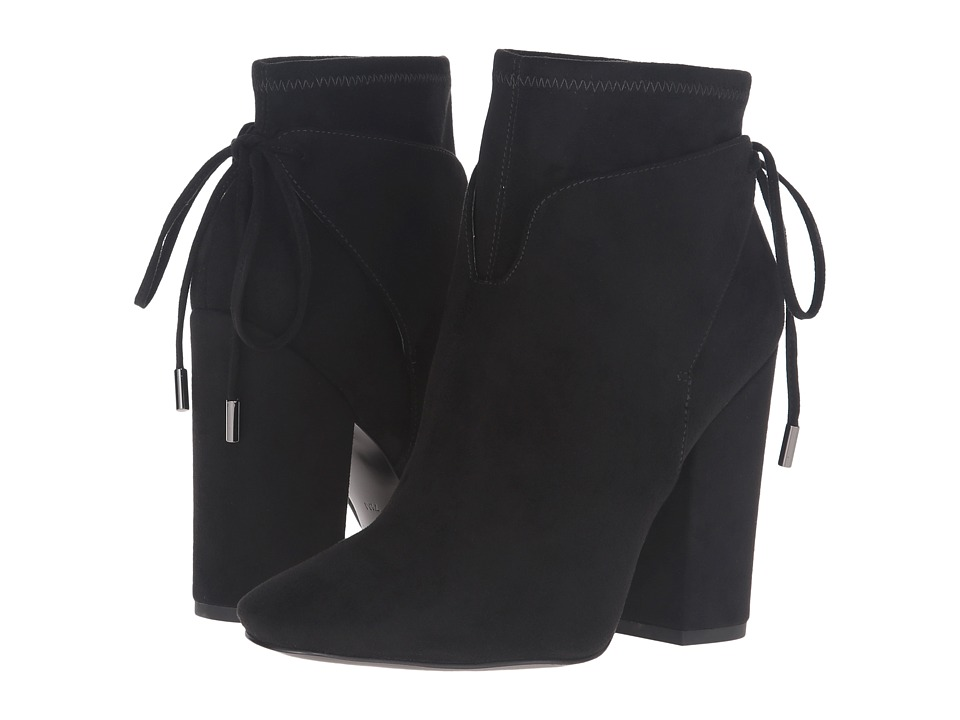 KENDALL + KYLIE Zola (Black Fabric/Super Fine Suede) Women