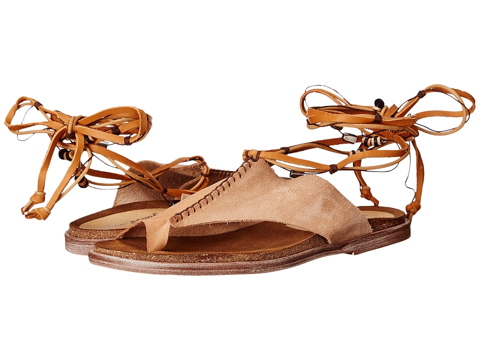 Free People Leigh Hill Footbed Sandal (Desert) Women