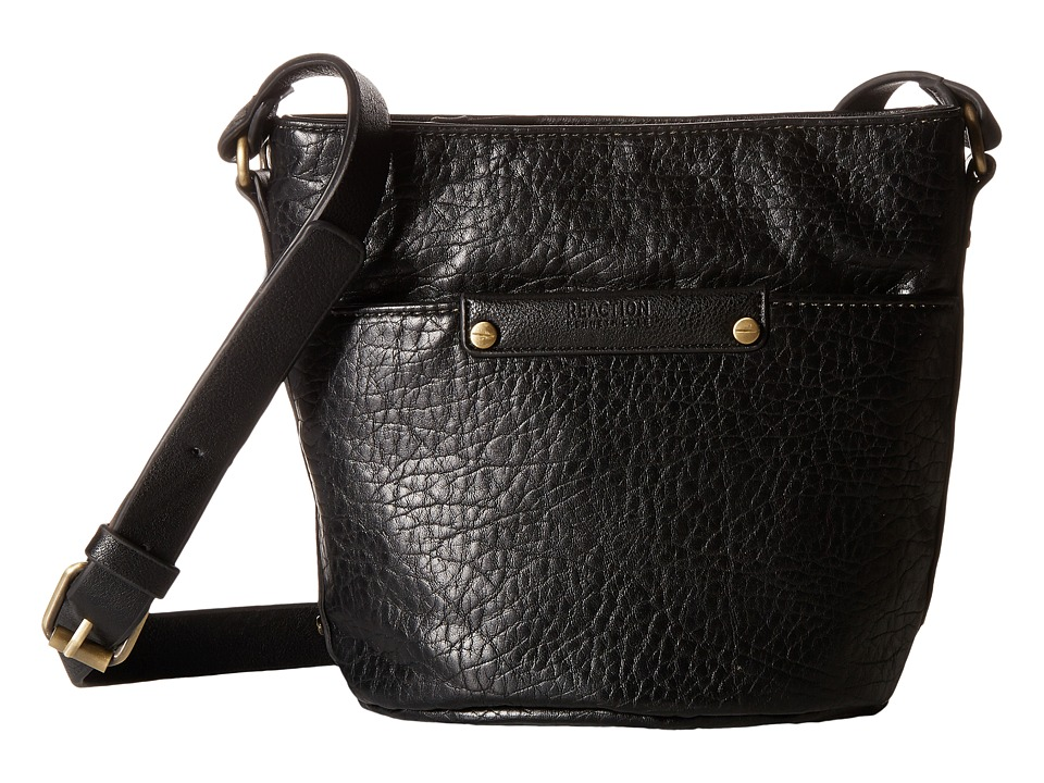 Kenneth Cole Reaction - Hard Soft Mini Crossbody (Black) Cross Body Handbags