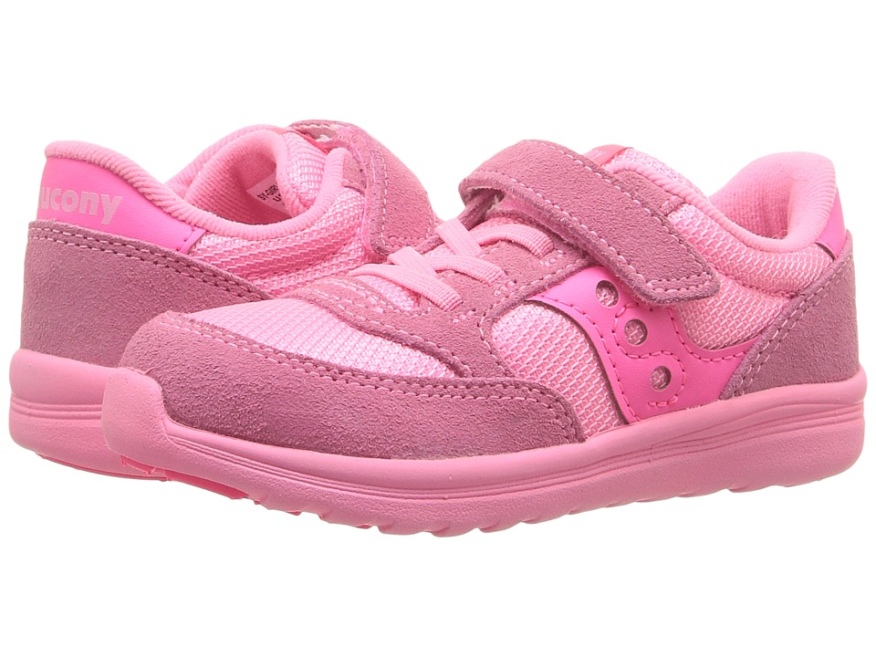 Saucony Kids Jazz Lite (Toddler/Little Kid) (Coral) Girls Shoes