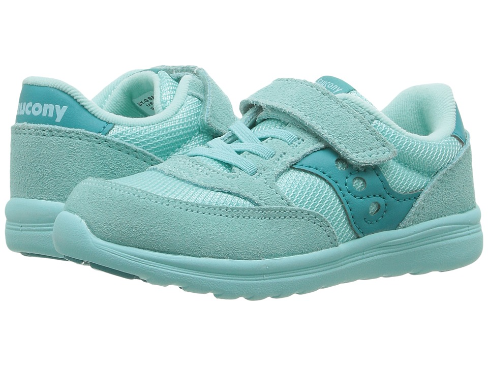 Saucony Kids Jazz Lite (Toddler/Little Kid) (Turquoise) Girls Shoes