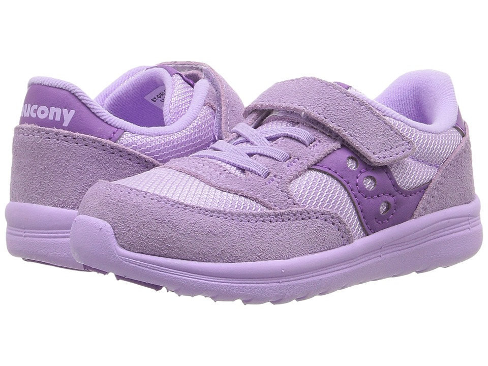 Saucony Kids - Jazz Lite (Toddler/Little Kid) (Purple) Girls Shoes