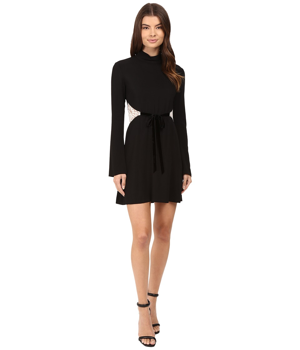 Rachel Zoe Kristi Dress (Black) Women