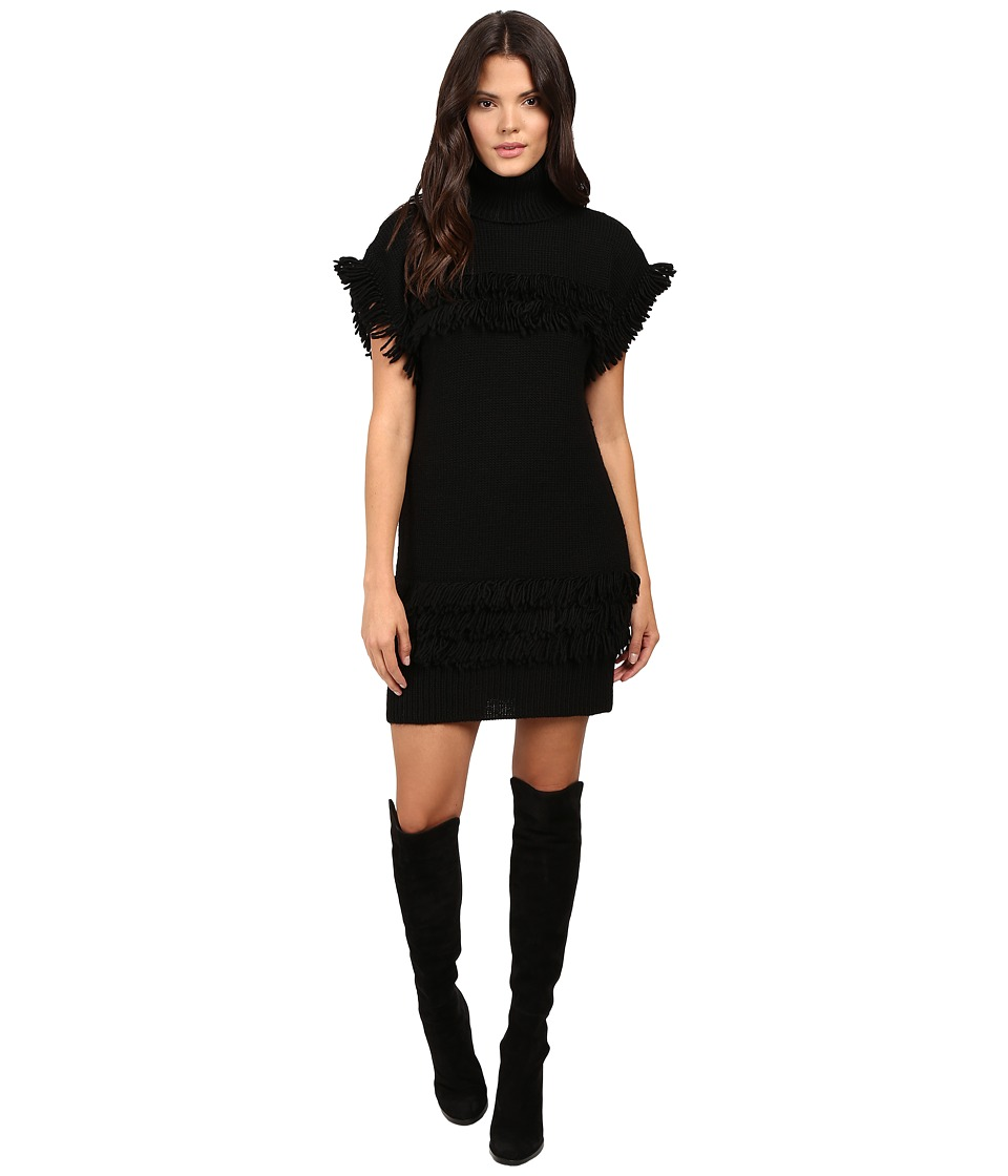 Rachel Zoe - Teegan Knit Dress (Black) Women's Dress