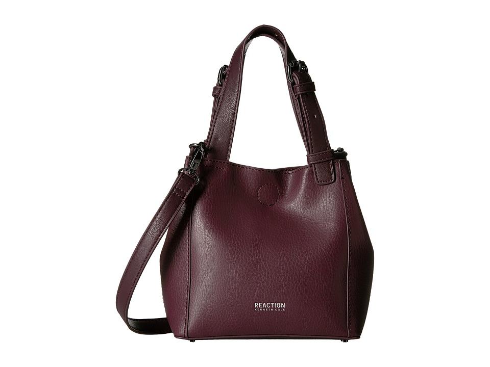 Kenneth Cole Reaction - Tactical Advantage Mini Shopper (Blackberry) Tote Handbags