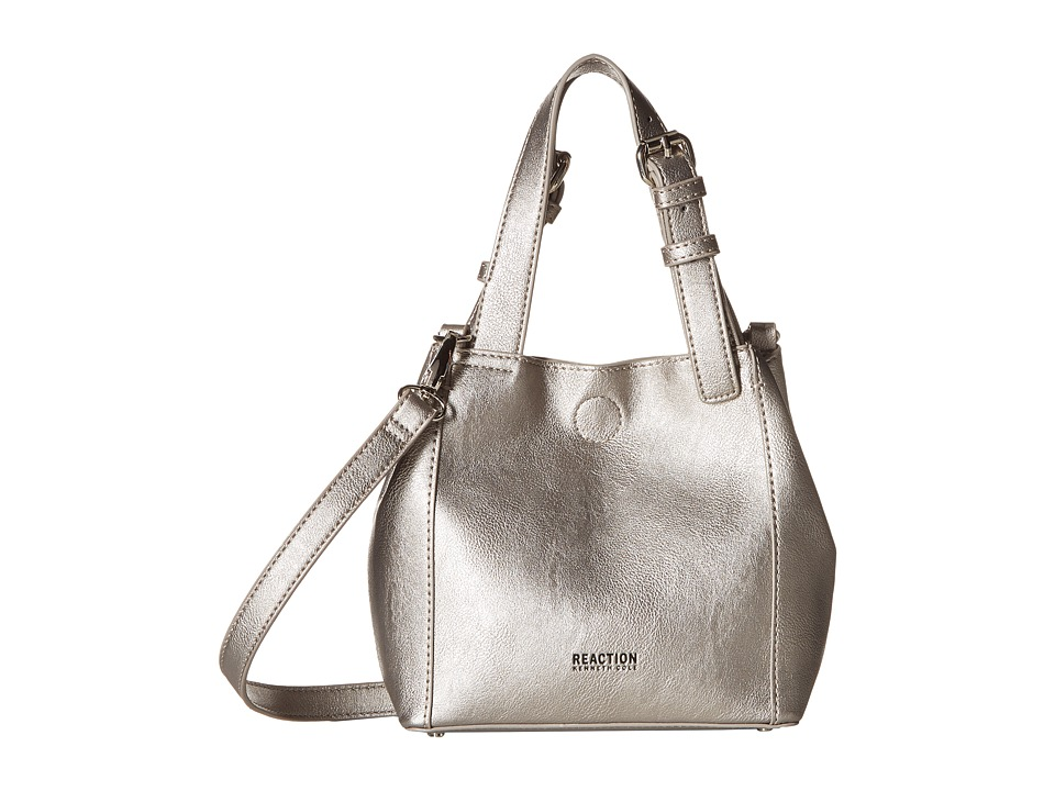 Kenneth Cole Reaction - Tactical Advantage Mini Shopper (Pearlized Silver) Tote Handbags
