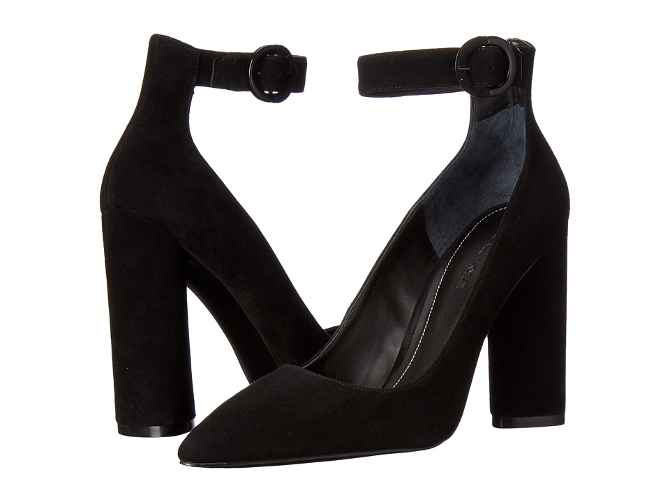 KENDALL + KYLIE - Gloria (Black Suede/Savory Suede) Women's Shoes