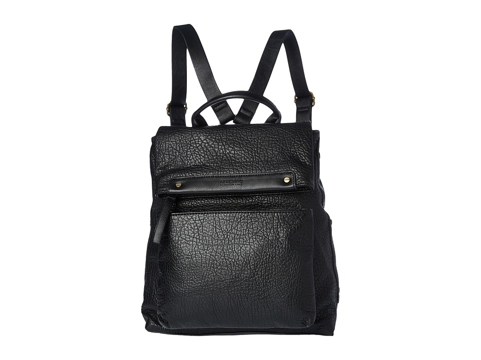 Kenneth Cole Reaction - Hard Soft Backpack (Black) Backpack Bags