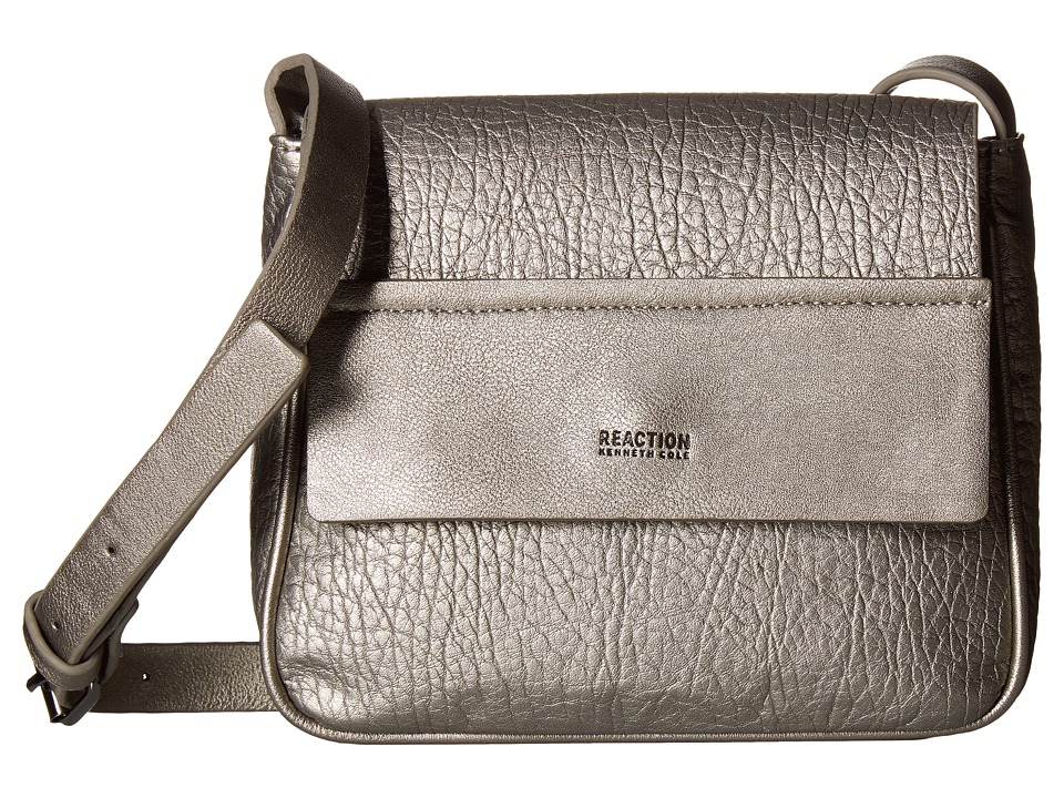 Kenneth Cole Reaction - On the Border Mini Bag (Silver) Handbags