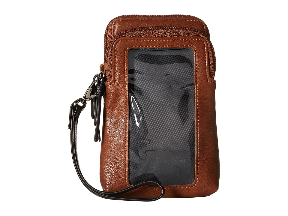 Kenneth Cole Reaction - Must Haves Top Zip Phone Pouch (Earth) Handbags
