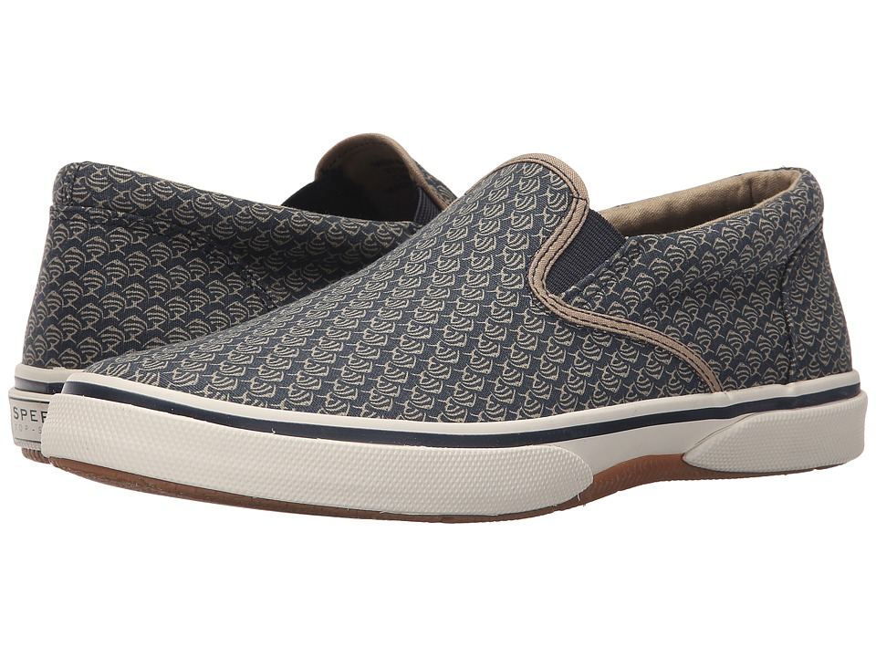 Sperry Top-Sider Halyard Twin Gore (Fish Print) Men