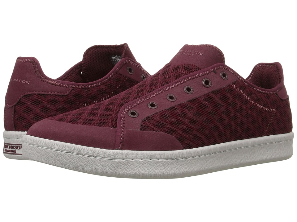 Mark Nason Summershade (Burgundy Mesh/Light Gray Bottom) Men