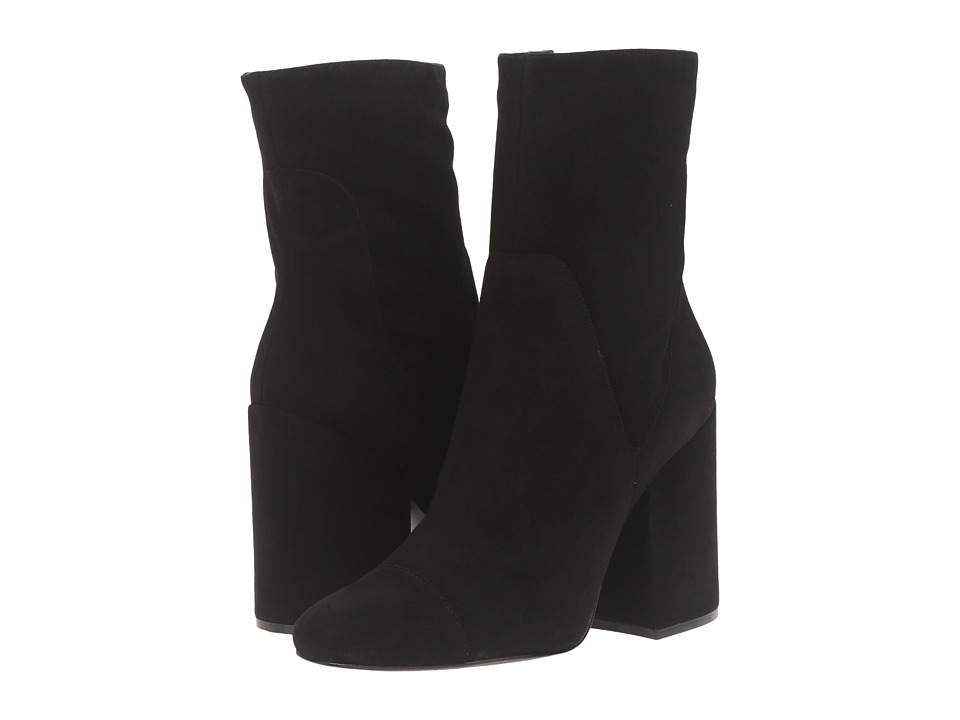 KENDALL + KYLIE - Brooke (Black Suede/Sheep Suede) Women's Shoes