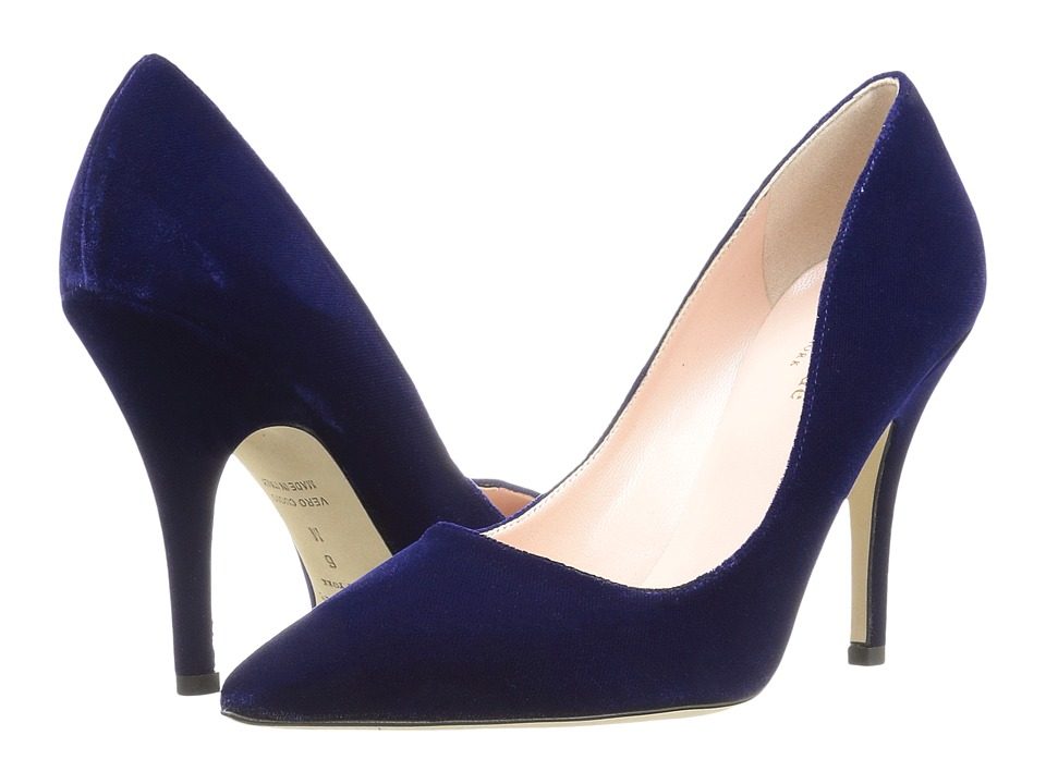 Kate Spade New York - Licorice (Ink Blue Velvet) High Heels