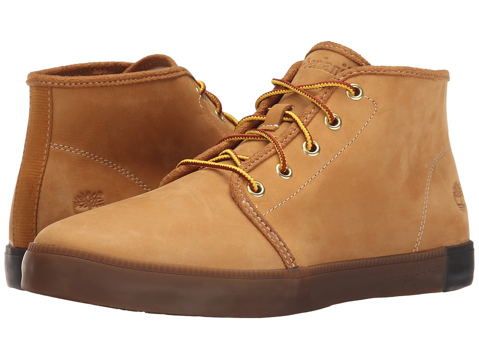 Timberland - Newport Bay Leather Chukka (Wheat Nubuck) Men