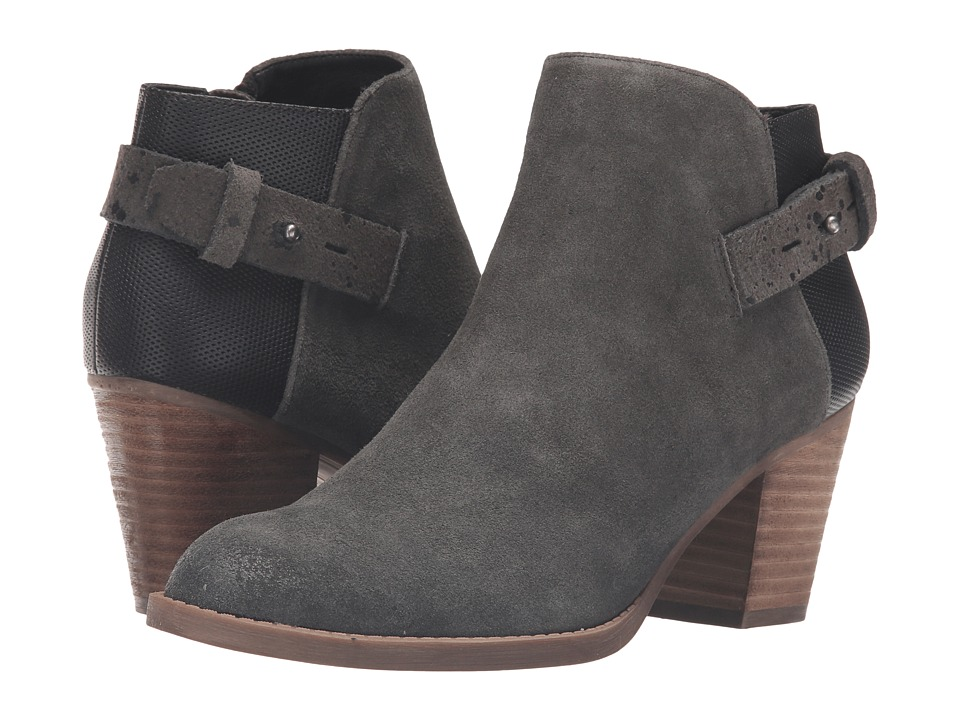 Dolce Vita - Jack (Charcoal Suede) Women's Shoes
