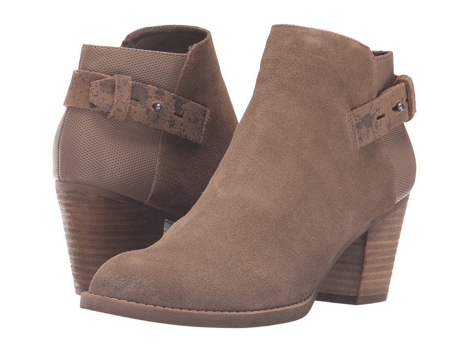 Dolce Vita - Jack (Dark Taupe Suede) Women's Shoes