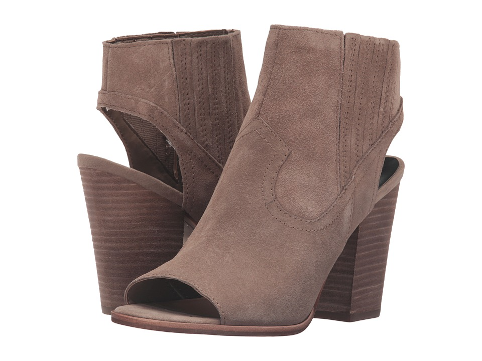Dolce Vita - Padma (Dark Taupe Suede) Women's Shoes