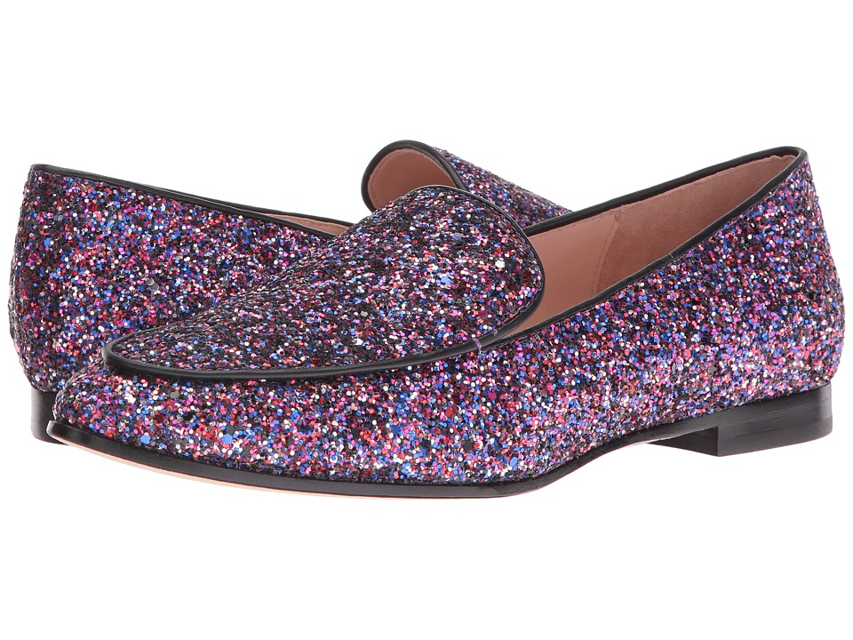 Kate Spade New York - Calliope (Purple Multi Glitter/Black Nappa) Women's Shoes