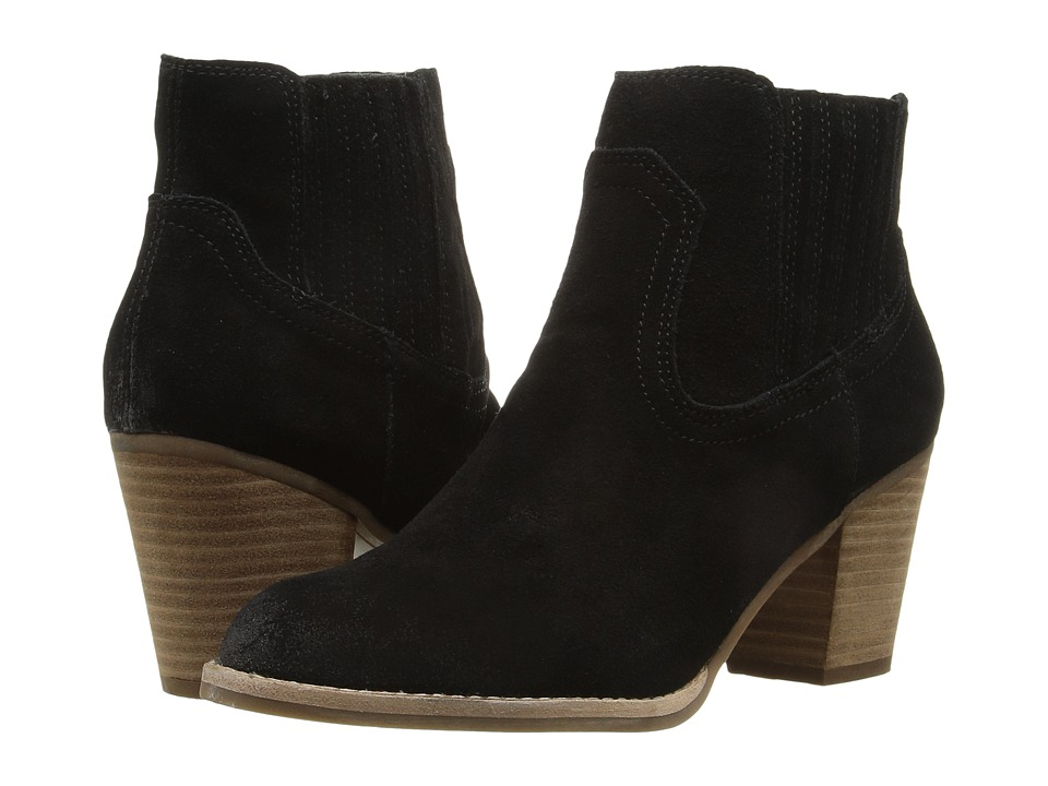 Dolce Vita - Jethro (Black Suede) Women's Shoes