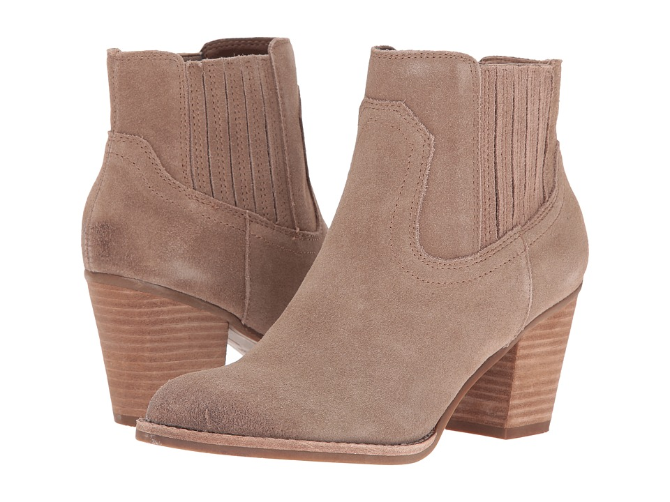 Dolce Vita - Jethro (Dark Taupe Suede) Women's Shoes