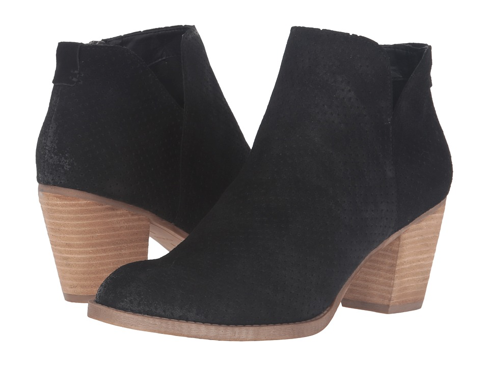 Dolce Vita - Janie (Black Suede) Women's Shoes