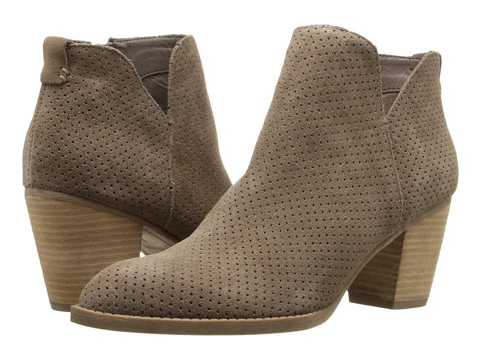 Dolce Vita - Janie (Dark Taupe Suede) Women's Shoes
