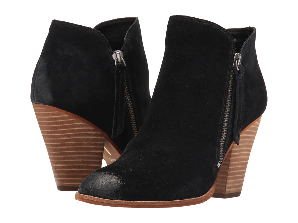 Dolce Vita - Hunt (Black Suede) Women's Shoes