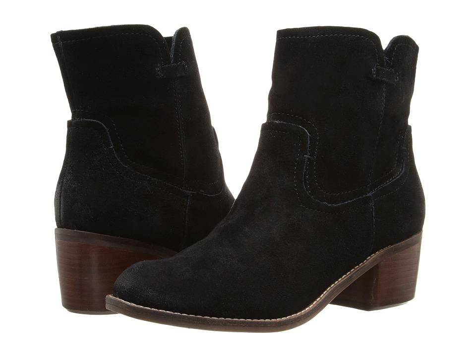Dolce Vita - Gayle (Black Suede) Women's Shoes