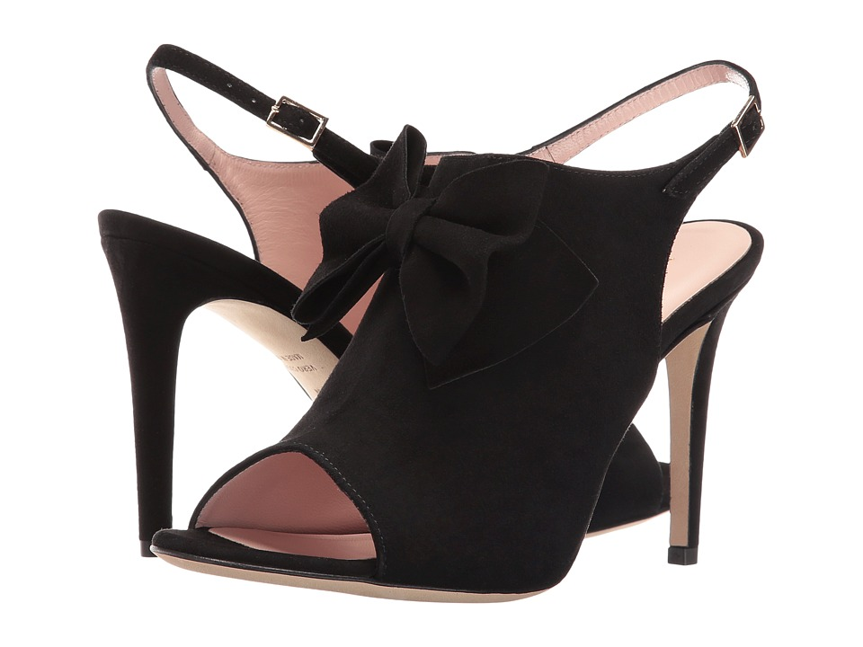 Kate Spade New York - Ilyse (Black Kid Suede) Women's Shoes