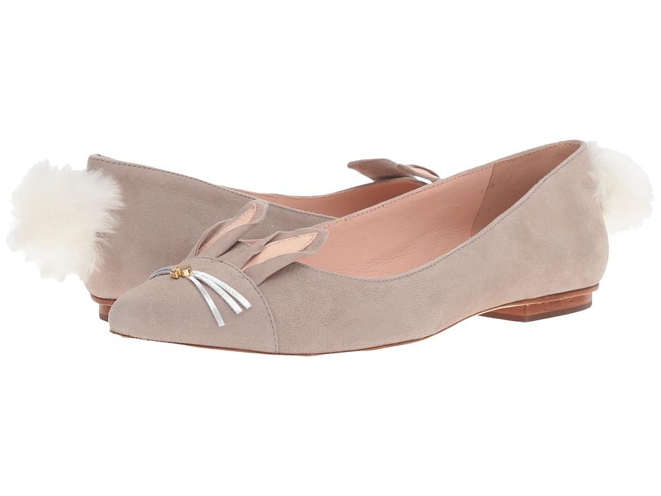 Kate Spade New York - Edina (Clay Kid Suede) Women's Shoes