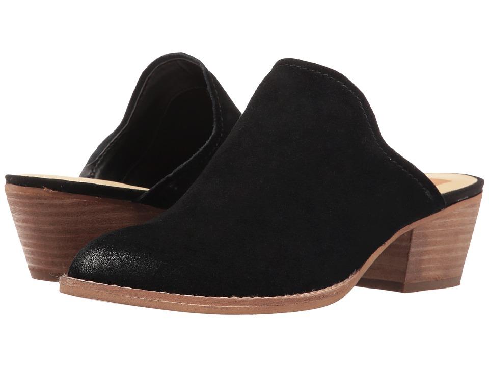 Dolce Vita - Sasha (Black Suede) Women's Shoes