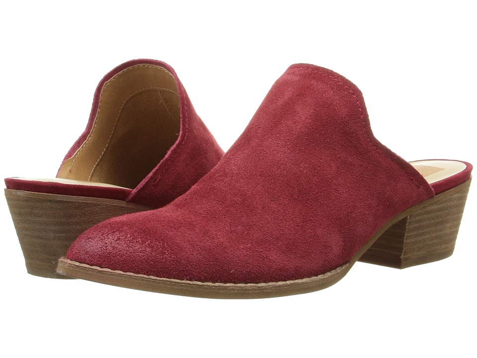 Dolce Vita - Sasha (Red Suede) Women's Shoes