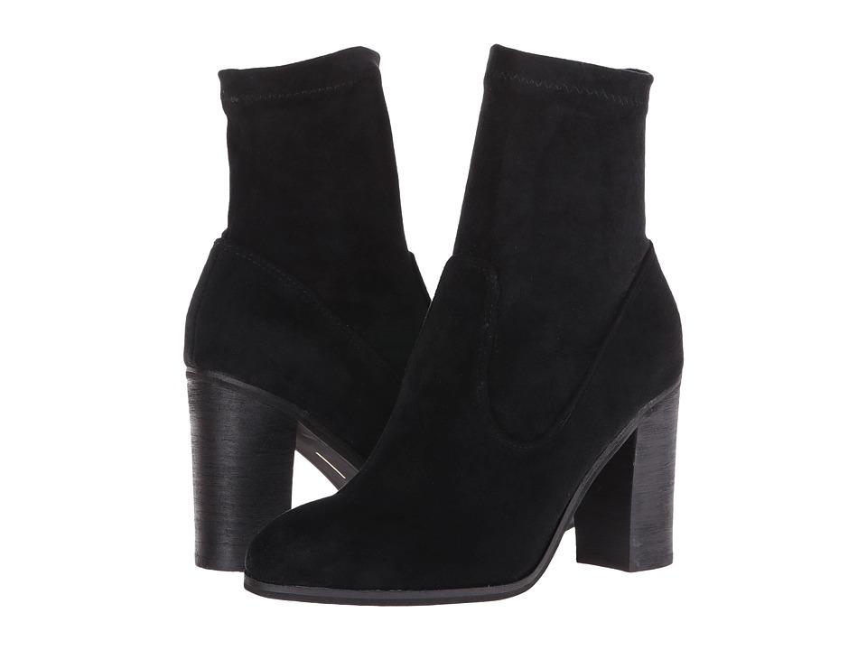 Dolce Vita - Leone (Black Suede) Women's Shoes