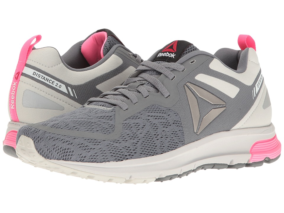 Reebok One Distance 2.0 Avon (Alloy/Skull Grey/Poison Pink/Pewter) Women