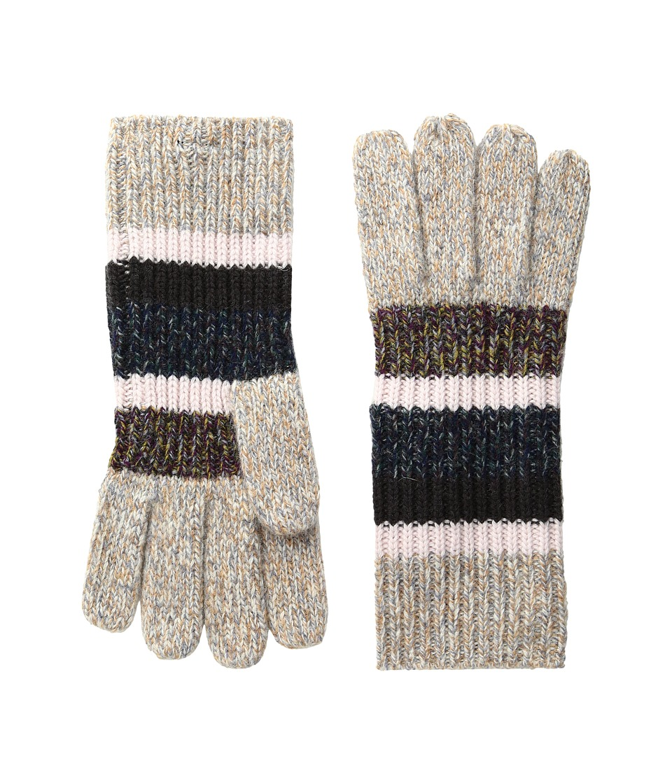 BCBGMAXAZRIA Marled Gloves (Crisp Linen) Wool Gloves