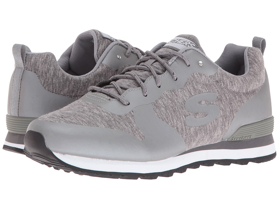 SKECHERS - OG 85 - Hot N Heathered (Gray) Women's Shoes