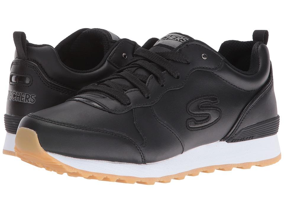 SKECHERS - OG 85 - Street Sneak Low (Black) Women's Shoes