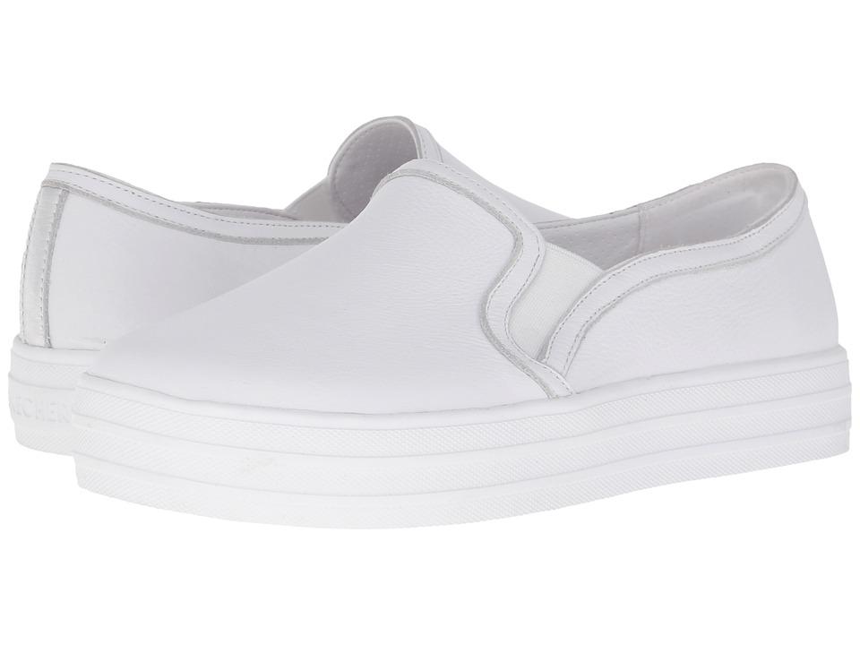 SKECHERS - OG 97 (White/Silver) Women's Slip on Shoes