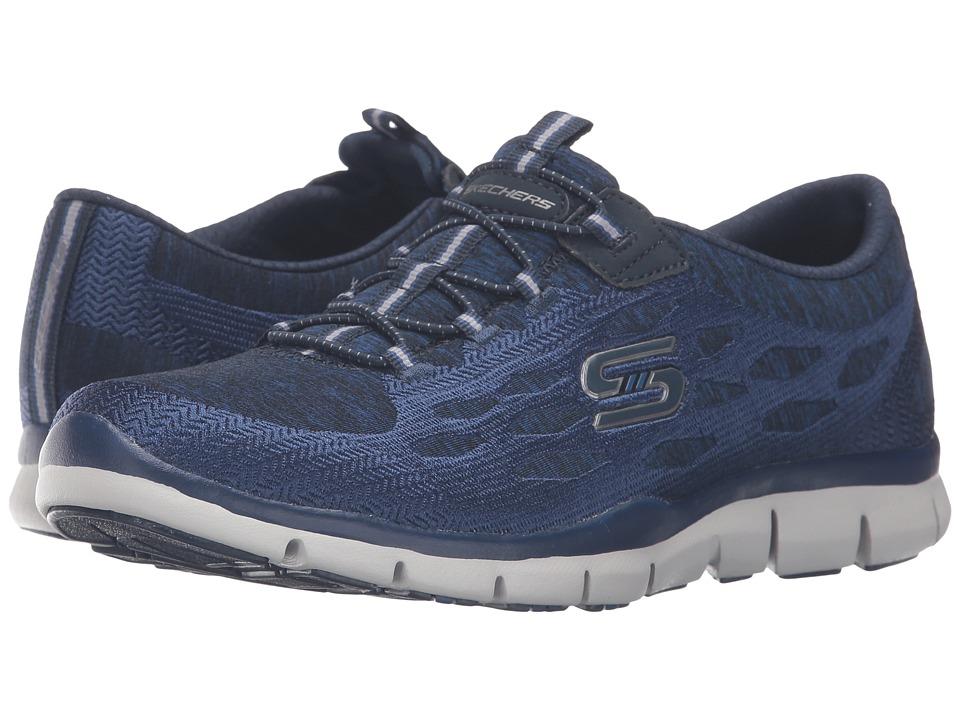 SKECHERS - Gratis - Blissfully (Navy) Women's Shoes