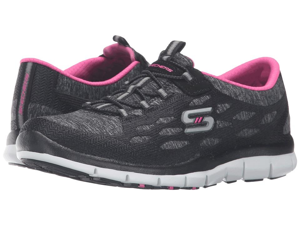 SKECHERS - Gratis - Blissfully (Black/White) Women's Shoes