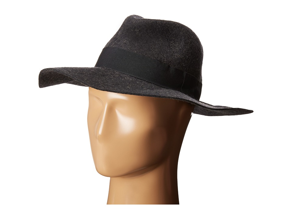 Michael Stars - Downtown Wide Brim Fedora (Oxide) Fedora Hats