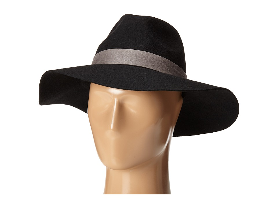 Michael Stars - Midnight Ride Wide Brim (Black) Caps